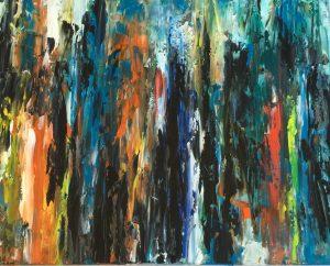 16x20 Turquoise Lapis