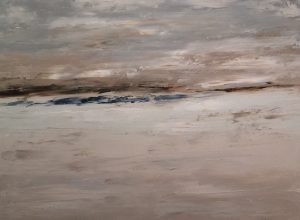 24x18 Winter Beach One